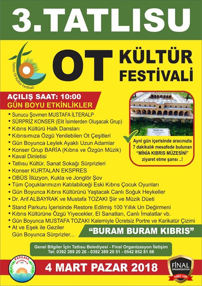 3-й фестиваль трав в Татлысу