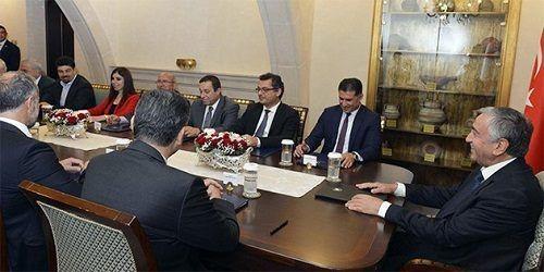 Акынджи обсудил с лидерами партий «План Эйде»