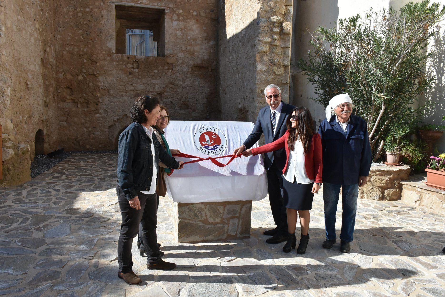В Кирении отреставрировали башню 11-го века