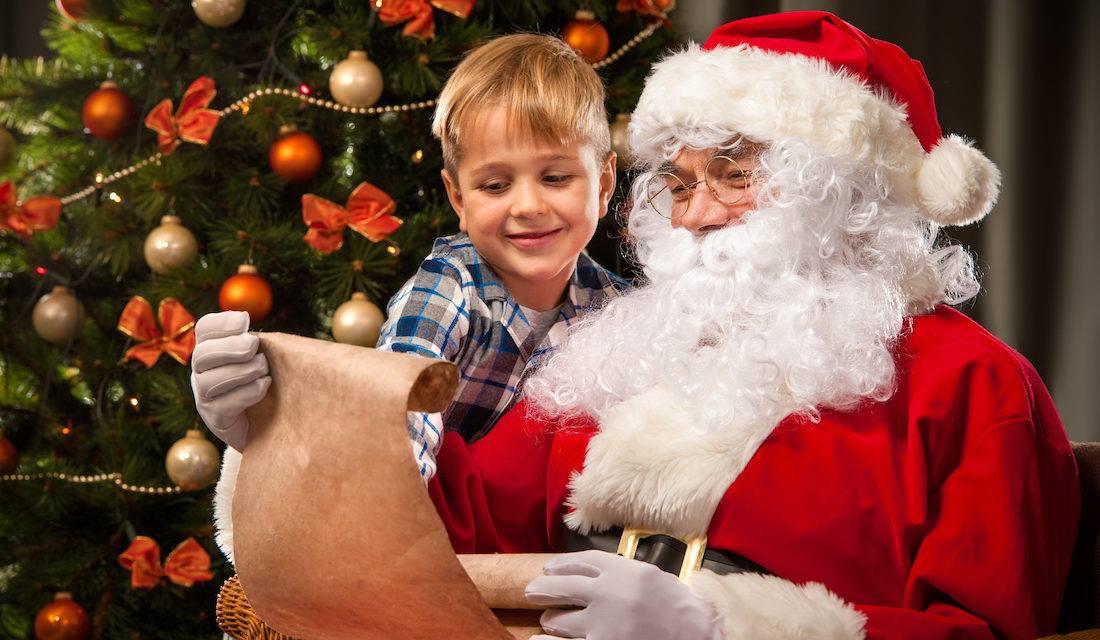 Санта-Клаус ждет ваших деток в гости