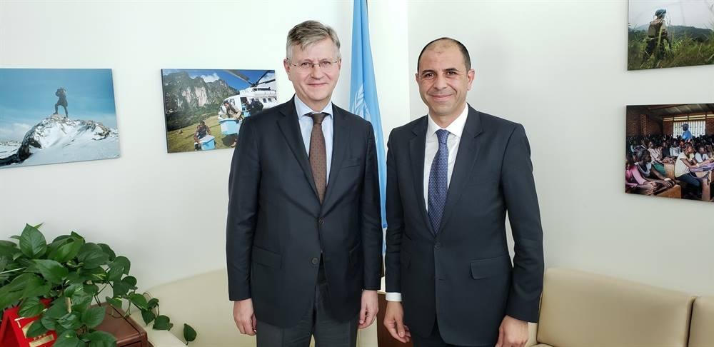 Özersay встретился с представителями ООН в Нью-Йорке