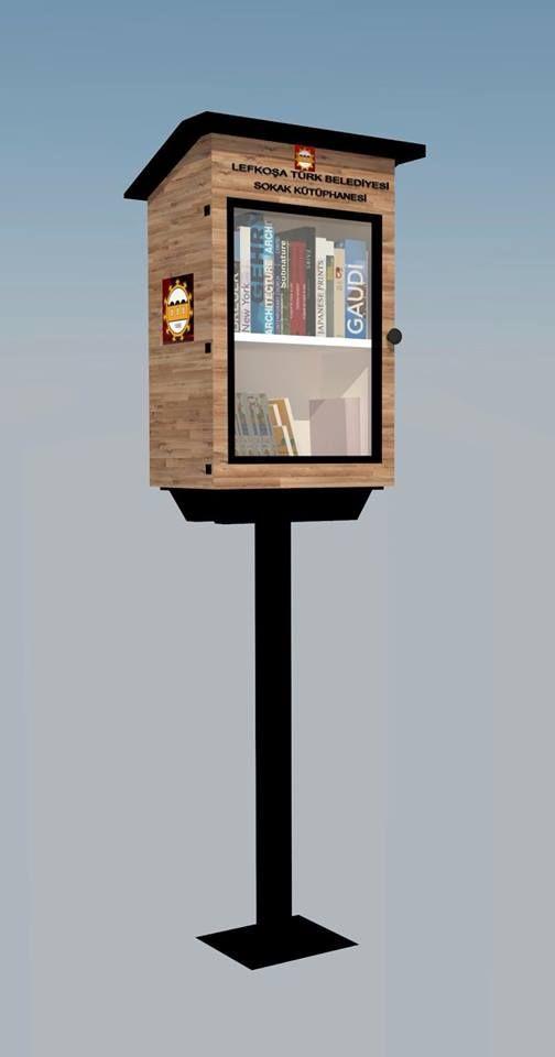 Проект уличных библиотек в Лефкоше
