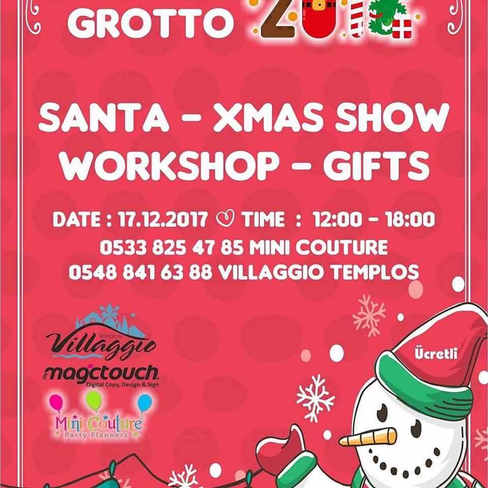 """Новогоднее мероприятие для детей в """"Villaggio Templos"""""""