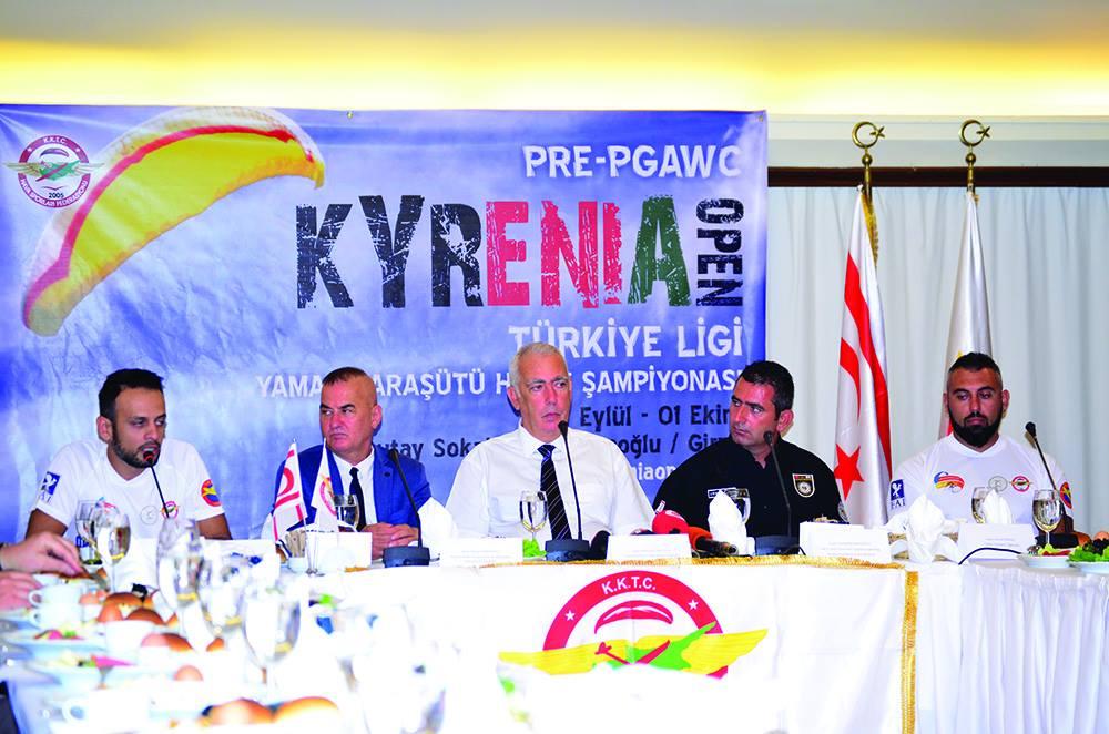 Первый этап чемпионата мира по парапланеризму пройдет на Северном Кипре